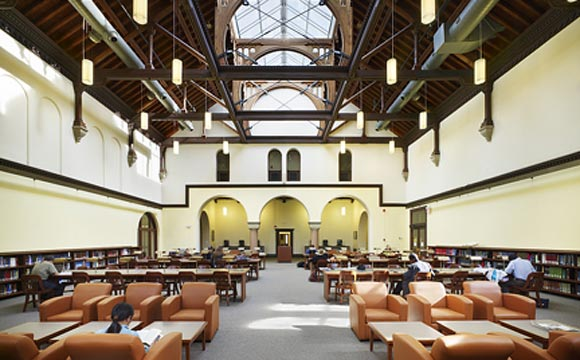 Recent Restoration Of The Gerstein Reading Room At U Of T