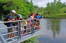 Outdoor education starts up again at the Brick Works