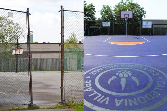 Mlse Foundation Improves Neighbourhoods One Basketball Court At A Time