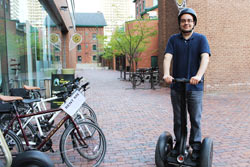Jason Rizzuti from Segway of Ontario