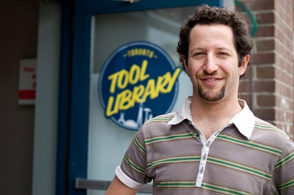 Ryan Dyment, co-founder of the Toronto Tool Library