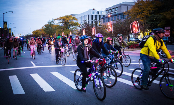 Creative Placemaking in Detroit turns to bikes
