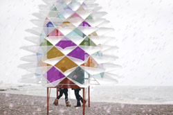 Snowcone by Diana Koncan and Lily Jeon and the Department of Architectural Science at Ryerson.