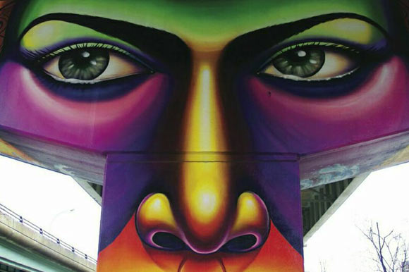 Live Art Festival, by Mural Routes and StART at Underpass Park.