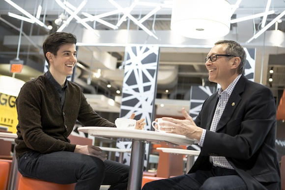 Ten Thousand Coffees Founder Dave Wilkin chats with expert John Betts, CEO of McDonald's Canada.