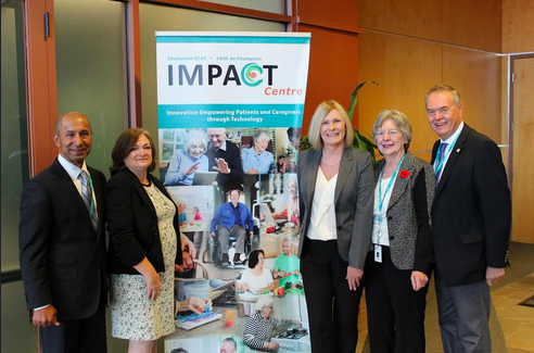 Champlain Community Care Access Centre launches innovation centre