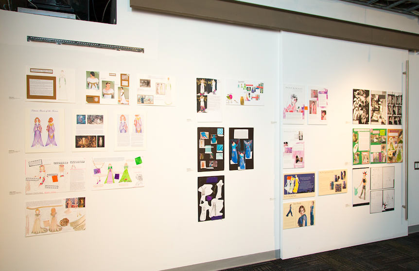 Entries from a previous competition featured at the Design Exchange