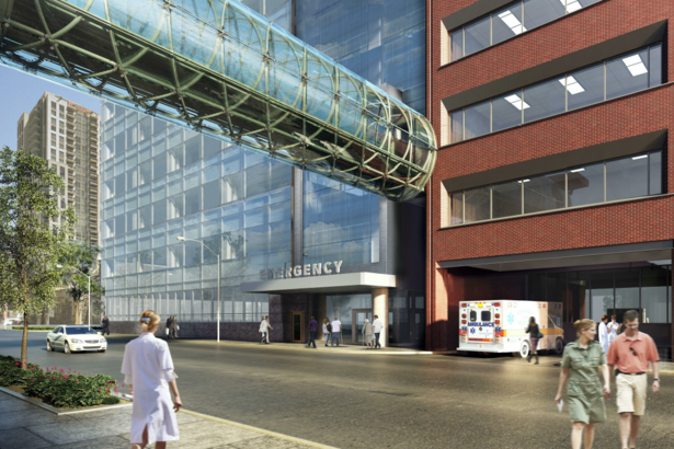 Shuter Wing Of St Michaels Hospital To Be Replaced By Modern Glass Structure