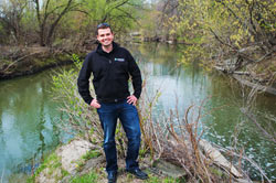 Arlen Leeming, MES Project Manager, Don & Highland Watersheds Toronto & Region Conservation Auth.