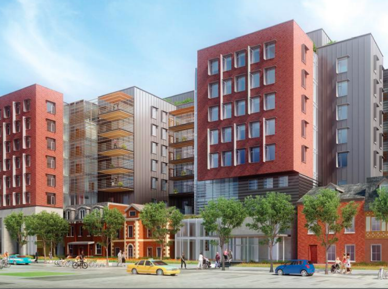 The city tries to employ many tools to create affordable housing; the proposed George Street redevelopment project includes transitional living and affordable units